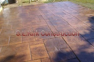 Photo #15: Decorative Stamped Concrete. S.L.Kirk construction