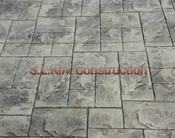 Photo #14: Decorative Stamped Concrete. S.L.Kirk construction