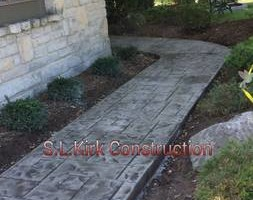 Photo #13: Decorative Stamped Concrete. S.L.Kirk construction