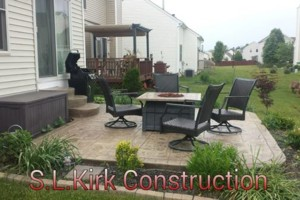 Photo #12: Decorative Stamped Concrete. S.L.Kirk construction
