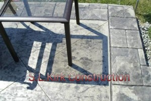 Photo #10: Decorative Stamped Concrete. S.L.Kirk construction