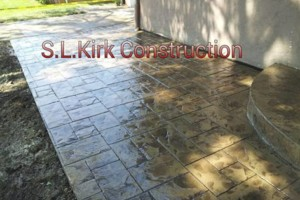 Photo #9: Decorative Stamped Concrete. S.L.Kirk construction