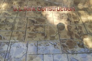 Photo #8: Decorative Stamped Concrete. S.L.Kirk construction