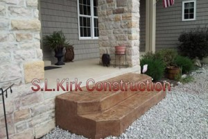 Photo #7: Decorative Stamped Concrete. S.L.Kirk construction