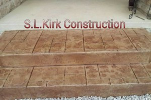 Photo #6: Decorative Stamped Concrete. S.L.Kirk construction