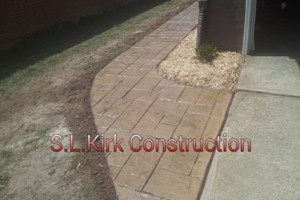 Photo #5: Decorative Stamped Concrete. S.L.Kirk construction