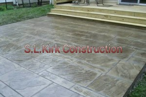Photo #3: Decorative Stamped Concrete. S.L.Kirk construction