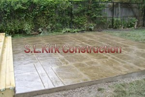 Photo #2: Decorative Stamped Concrete. S.L.Kirk construction