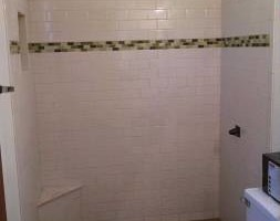 Photo #6: Showers, Floors, Fireplaces, Back-splash installations