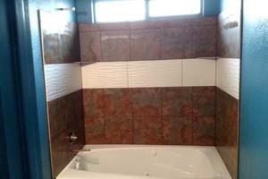 Photo #5: Showers, Floors, Fireplaces, Back-splash installations