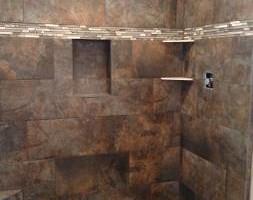 Photo #2: Showers, Floors, Fireplaces, Back-splash installations