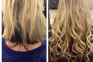 Photo #1: PROFESSIONAL HAIR EXTENSIONS...