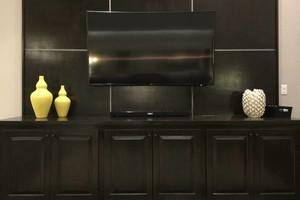 Photo #1: Mount TV/ Hang TV/ Hide Wiring