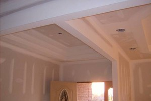Photo #1: Residintial cost friendly drywall service!