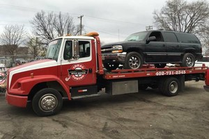 Photo #1: $40 FLATBED TOWING
