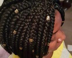 Photo #2: Hair braiding and weaving cheap