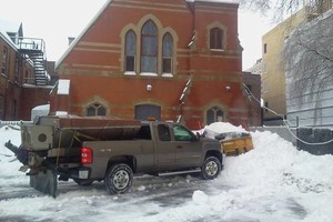 Photo #1: SNOWPLOWING AND SALTING