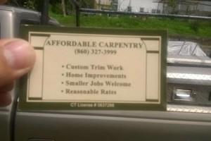 Photo #1: Skilled Remodeling Carpenter $25/hour