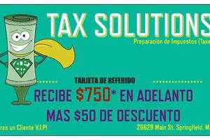 Photo #1: Tax Solutions. Come now!