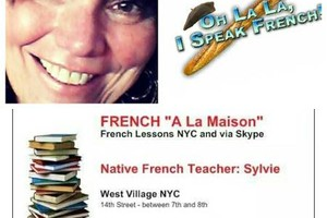 Photo #1: REAL FRENCH LESSONS FRENCH TEACHER. West Village/Chelsea NYC