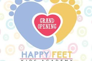 Photo #1: HAPPY FEET KIDS ACADEMY GRAND OPENING