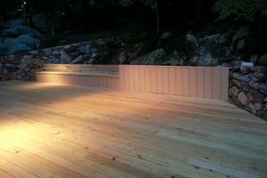 Photo #1: Decks constructed at affordable rates!