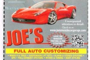 Photo #1: Joes Muscle Car Garage