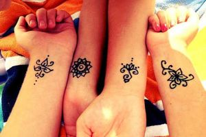Photo #1: Henna Tattoos for Parties