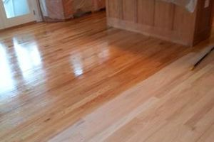 Photo #2: Wood Floor, installation, refinishing new or old. Floor Sanding!