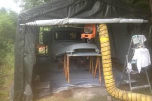 Photo #1: Sandblasting & Autobody Mobile Shop