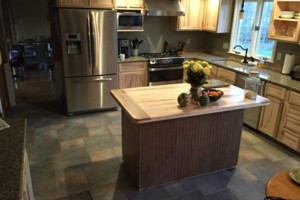 Photo #1: Ambrosia Maple Kitchen. JMAWoodworks