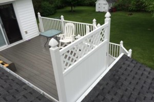 Photo #1: MODERN DECKS AND RAILINGS