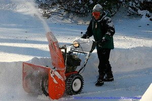 Photo #1: SNOW BLOWING in a pinch, no contract needed