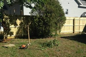 Photo #1: Fencing Installed/Wood Stockade