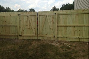 Photo #10: Fence installation. Longo Fencing