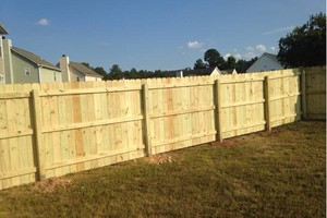 Photo #9: Fence installation. Longo Fencing