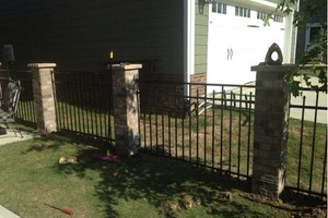 Photo #8: Fence installation. Longo Fencing