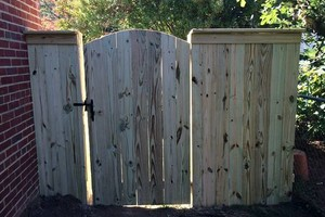 Photo #2: Fence installation. Longo Fencing