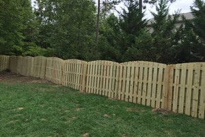 Photo #1: Fence installation. Longo Fencing