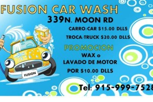 Photo #1: FUSION CAR WASH