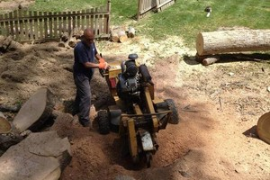 Photo #1: HONEST & RELIABLE STUMP GRINDING