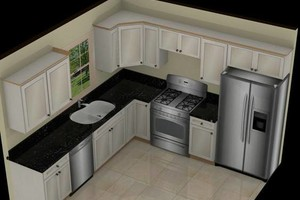 Photo #1: Kitchen Cabinets. . . Best Value In Central Virginia