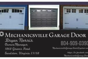 Photo #6: Mechanicsville Garage Door Install & Repair & Service