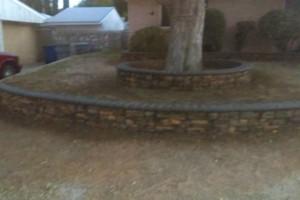 Photo #2: MC Landscape & Concrete - rock walls, artificial grass, pargolas