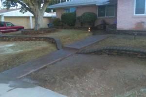 Photo #3: MC Landscape & Concrete - rock walls, artificial grass, pargolas