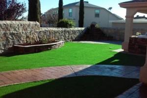 Photo #9: MC Landscape & Concrete - rock walls, artificial grass, pargolas