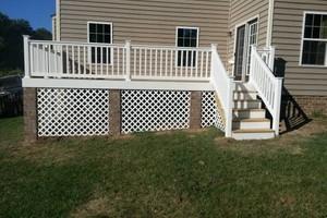 Photo #6: Decks, Fences, Home Improvements. DECKSRVA.