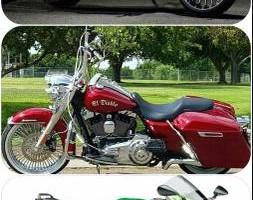 Photo #1: Joseph's Motorcycle detail
