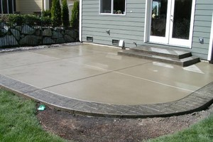 Photo #6: Concrete/cement work + colored concrete!