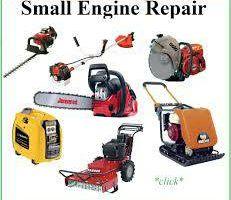 Photo #1: Small Engine Repair